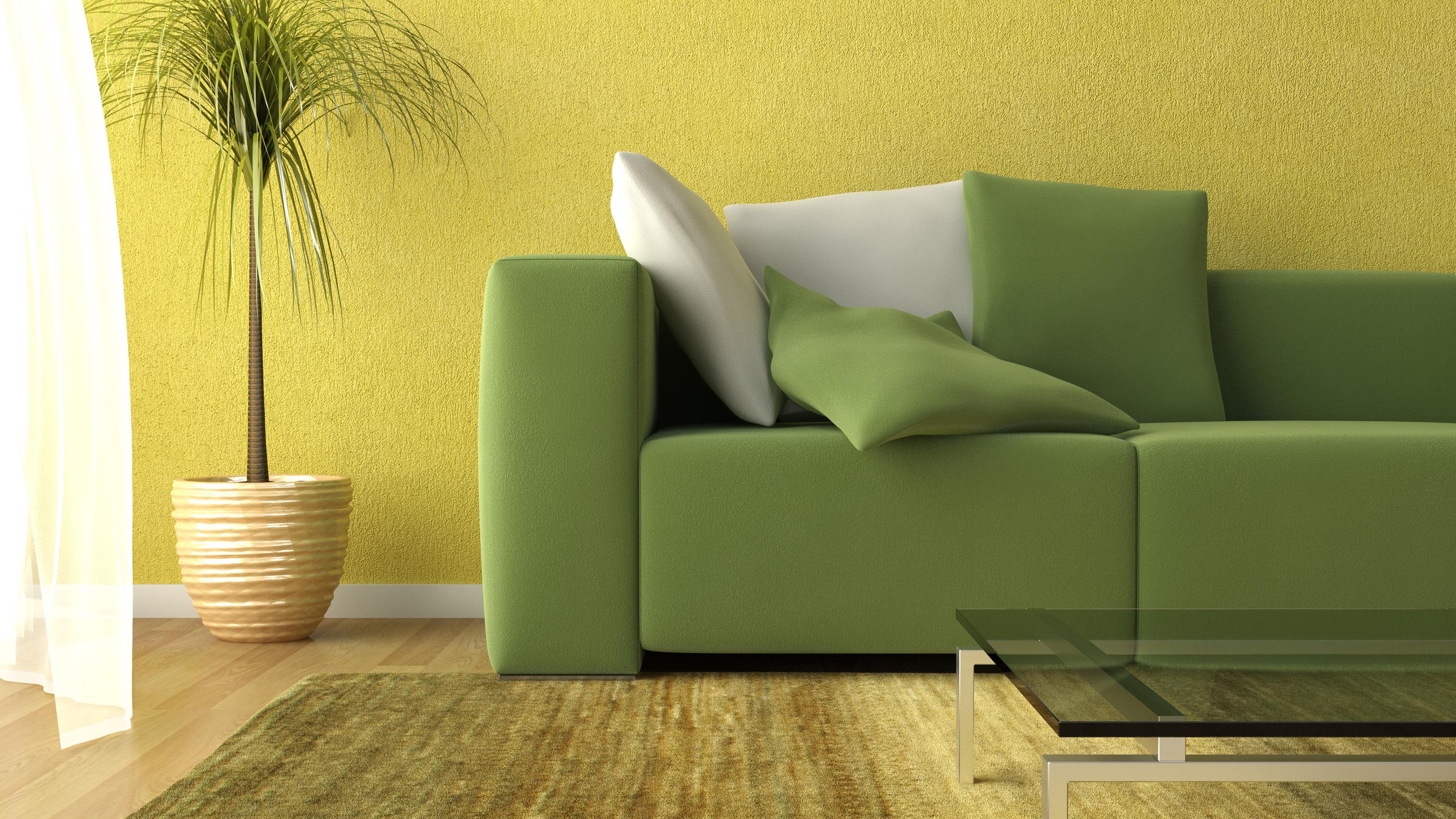Baunet – roheline diivan